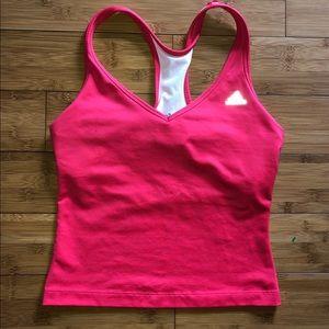 Woman's Adidas climacool workout tank top